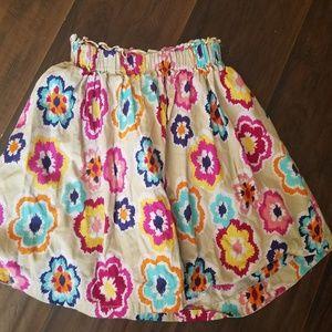 Gap Girls Floral Skirt